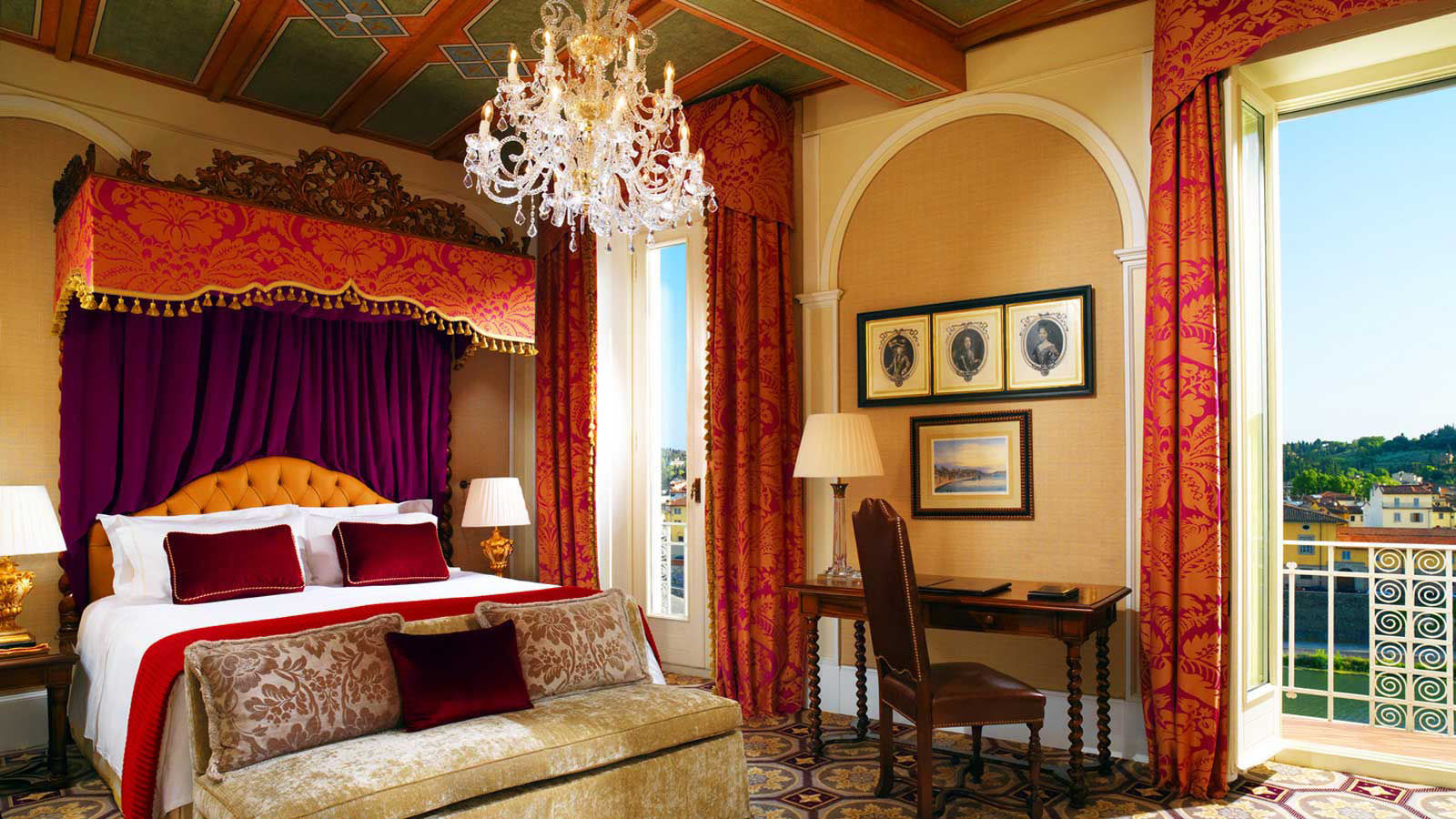 Rooms and suites the st regis florence hotel for Hotel design florence