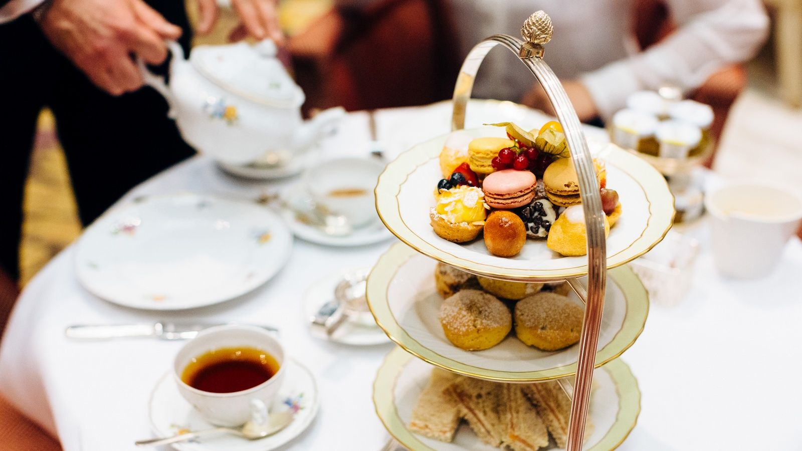 The St. Regis Afternoon Tea Ritual