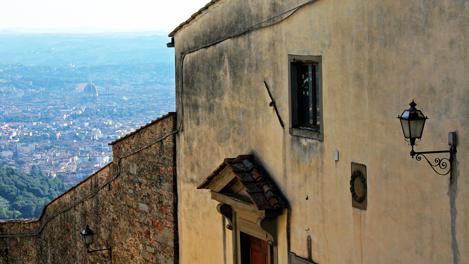 Fiesole view of Florence