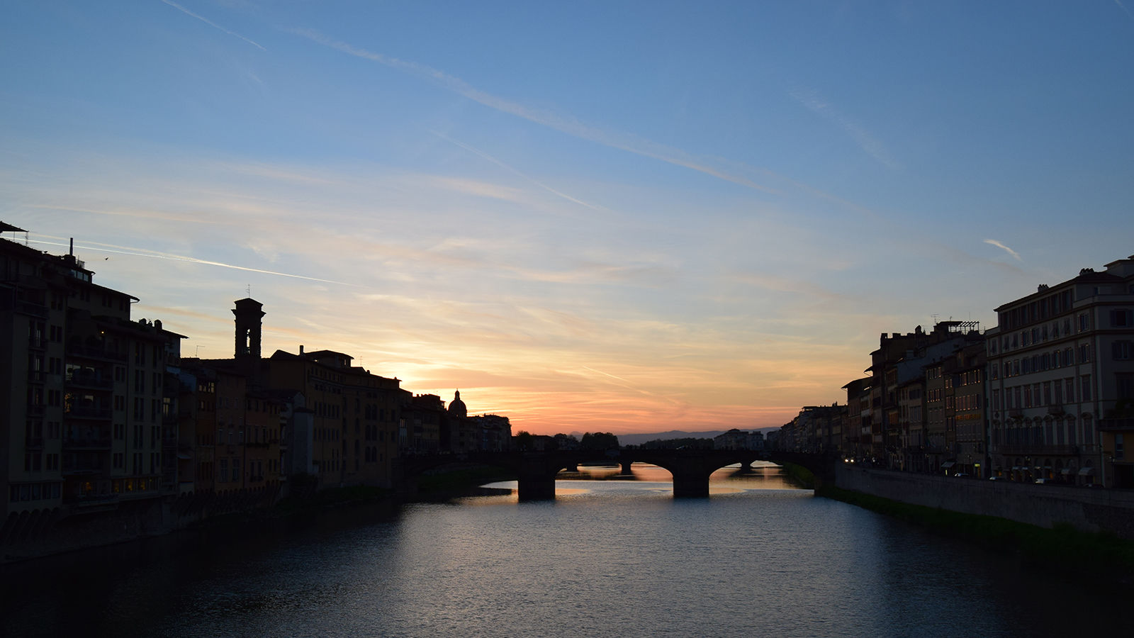 Sunset from Ponte Santa Trinità