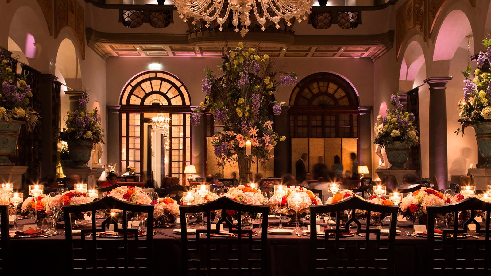 Scent Dinner at The St. Regis Florence