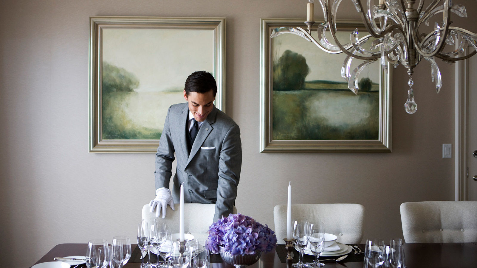 Private Dining St. Regis Butler