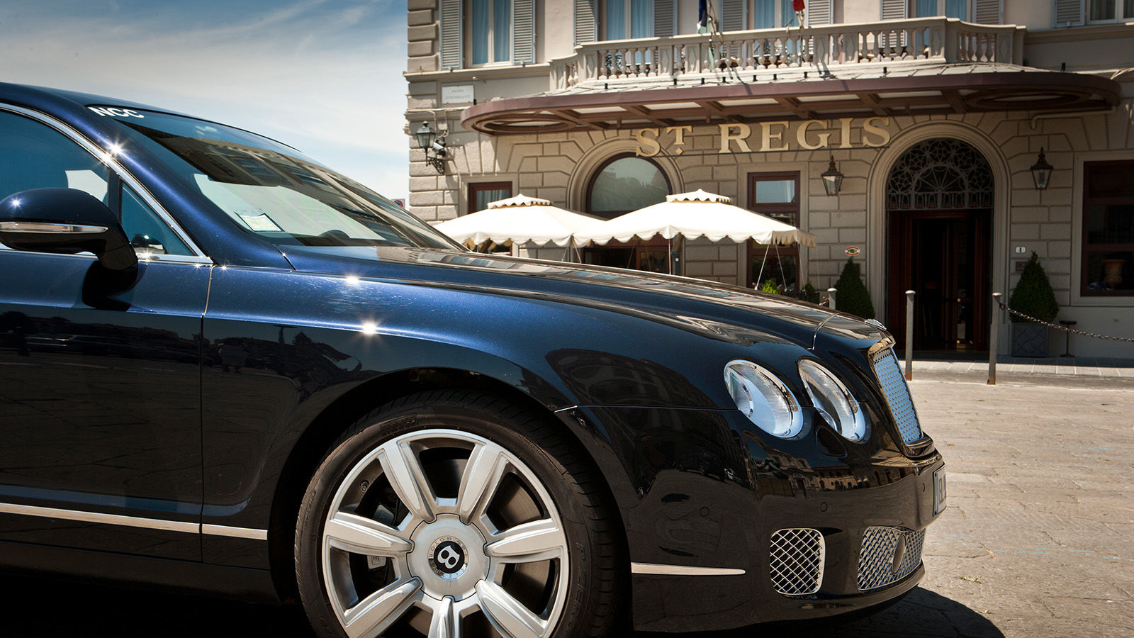 The St. Regis Florence Bentley car