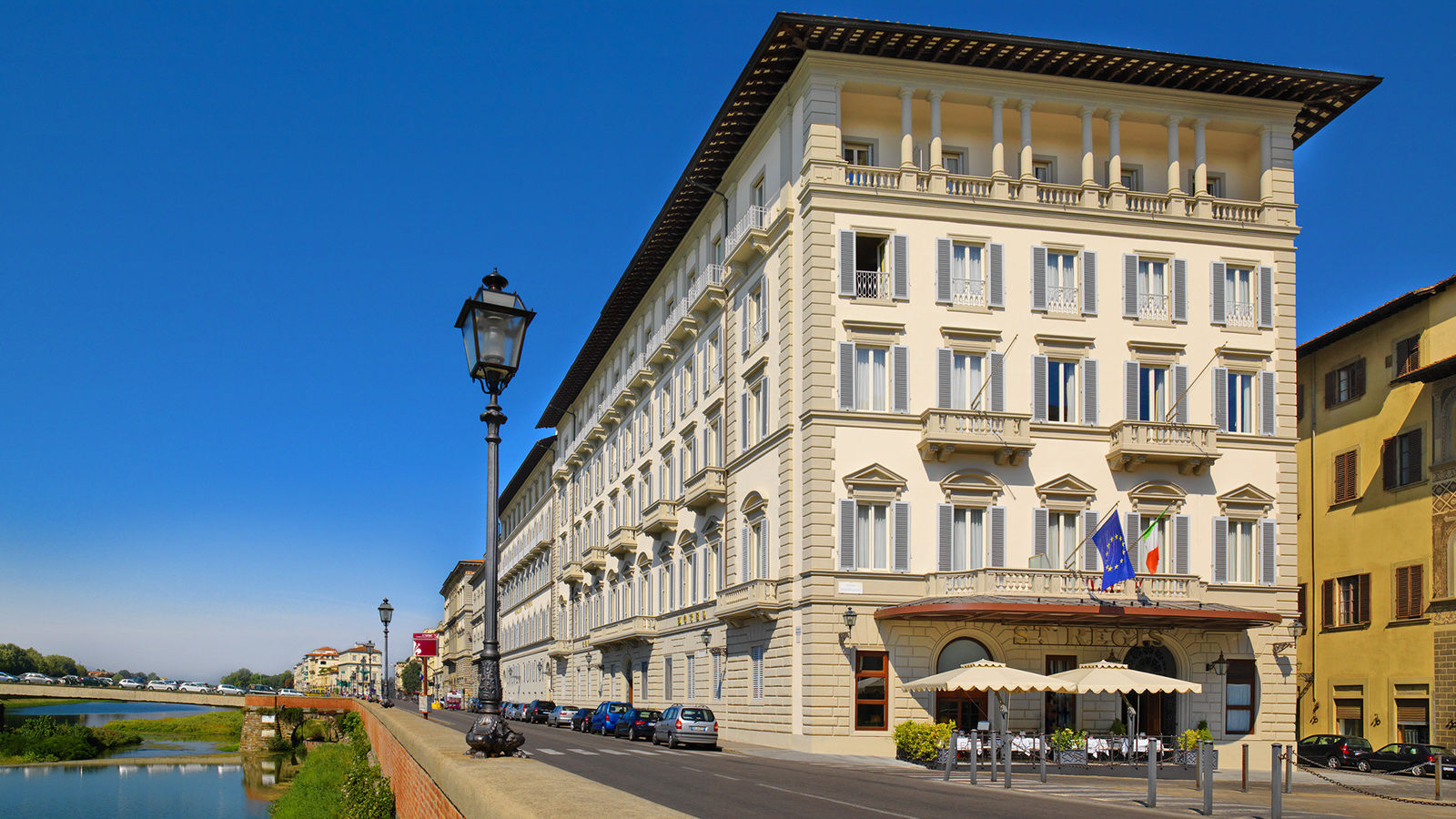 The St. Regis Florence Facade