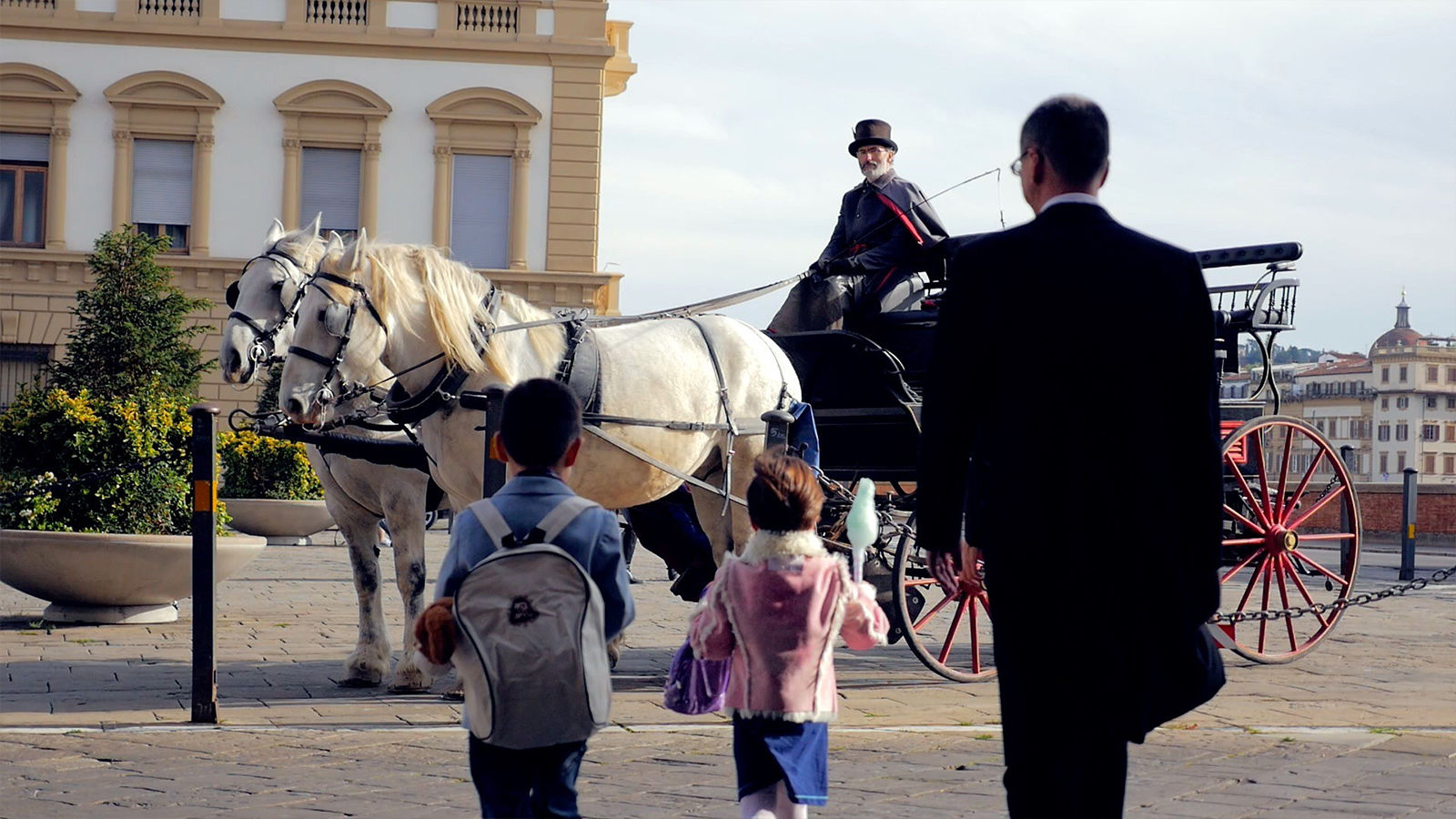 Horse Carriage tour with The St. Regis Florence