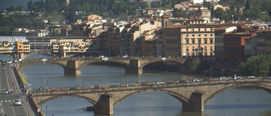 A favourite view from Grand Hotel, Florence